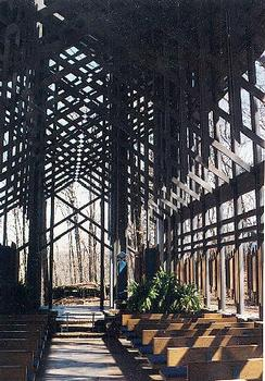 Thorncrown Chapel, Eureka Springs, Arkansas.