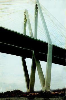 Fred Hartman Bridge, Houston, Texas.