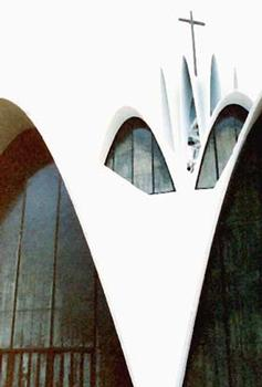 Priory of St. Mary and St. Louis, Creve Coeur, Missouri, HOK, 1962