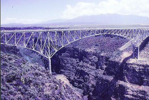 Taos Gorge Bridge.