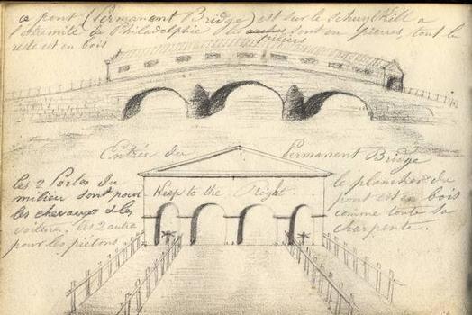 Zeichnung der Permanent Bridge –  Zur Verfügung gestellt von Thierry Wagner