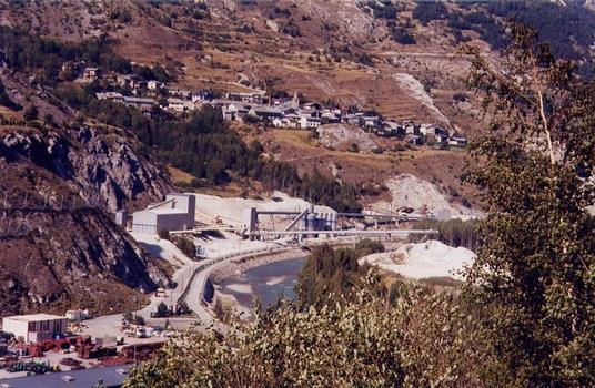 Tunnel du Mont d'Ambindescenderie de Modane-Villarodin-Le Bourget