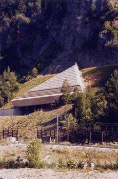Tunnel Orelle Ventilationsanlage La Bronsonnière