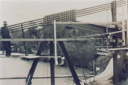 Major truss joint.