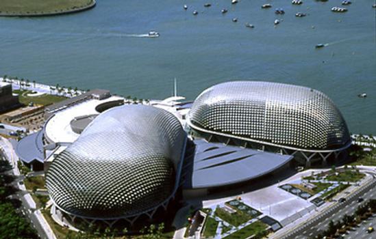 Esplanade-Theatres on the Bay, Singapour