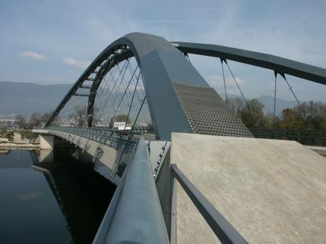 Aare River Bridge Arch