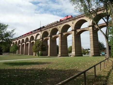 Enz-Viaduct, Bietigheim, Germany