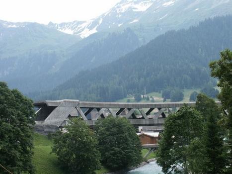 Landquartbrücke, Klosters
