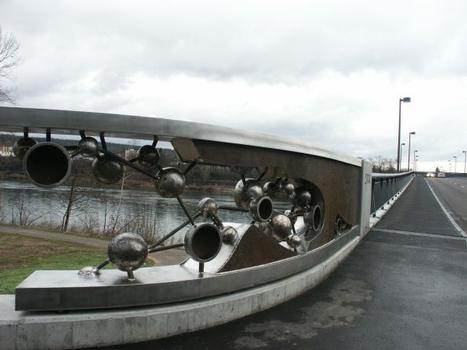 Neue Rheinbrücke bei Laufenburg