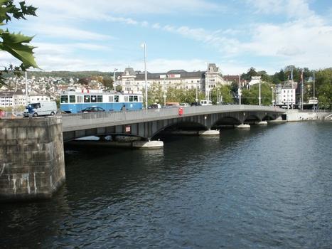 Quaibrücke, Zurich
