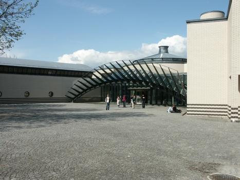 Kantonsschule in Wohlen.