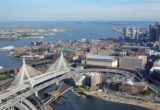Leonard P. Zakim Bunker Hill Bridge, Boston (Massachusetts)