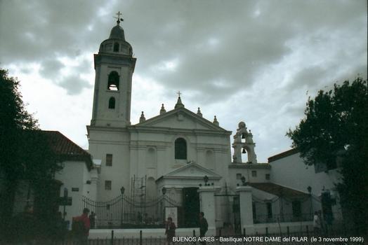 Basilica Nuestra Señora del Pilar, Buenos Aires.