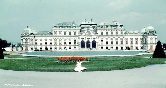 Schloss Belvedere, Wien.