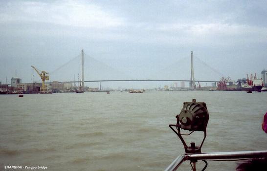 Yangpu Bridge, Shanghai.
