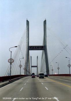Jangtsebrücke in Wuhan