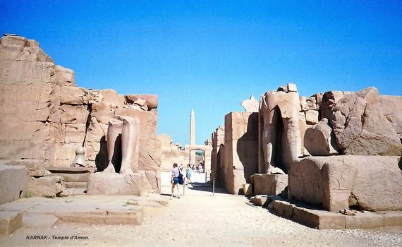 Tempelstadt in Karnak