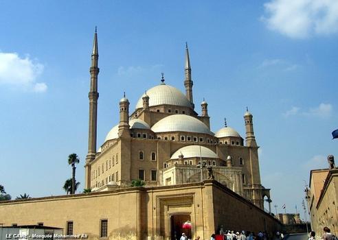 LE CAIRE – Mosquée de Mohammed Ali, dans la Citadelle