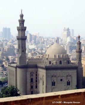 LE CAIRE – Madrasa du Sultan Hassan, sur la place Salah el-Din