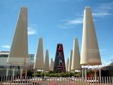 SEVILLE (Andalousie) – Exposition Universelle 1992, Pavillon de la CEE