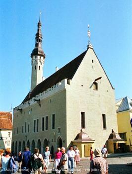Altes Rathaus und Belfried in Tallinn, Estland
