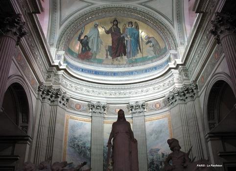 PARIS – Le Panthéon, abside de l'église Sainte-Geneviève