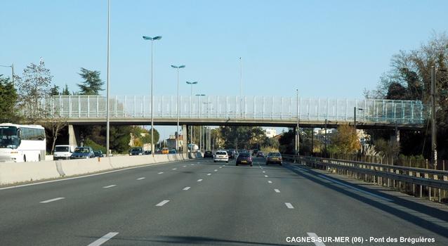 Autoroute A 8 – Cagnes-sur-Mer – Bréguières-Brücke