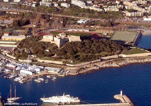 ANTIBES (06, Alpes-Maritimes) – Le Fort-Carré