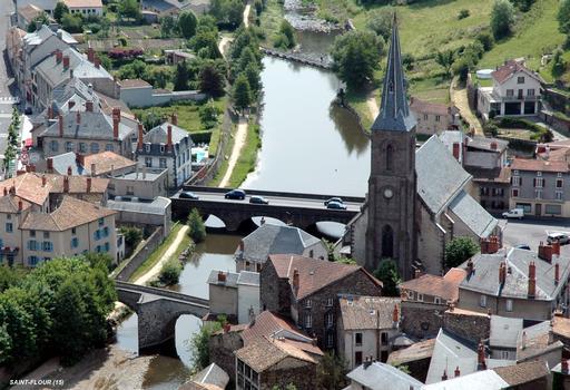 Brücken in Saint-Flour