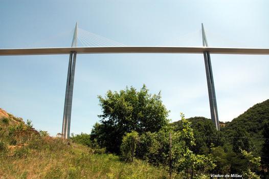 MILLAU (12, Aveyron) – Viaduc de l'A 75, piles P2 et P3
