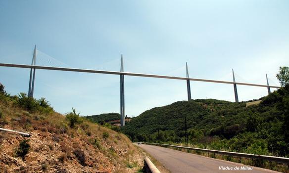 MILLAU (12, Aveyron) – Viaduc de l'A 75, de P2 à P6
