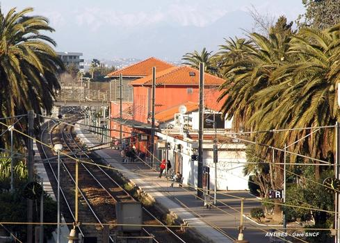 Bahnhof Antibes