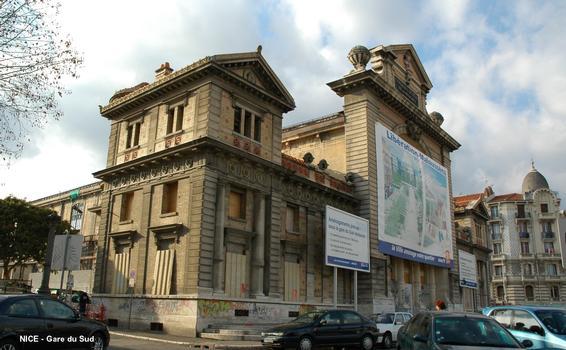 NICE – « Gare du Sud », le bâtiment des voyageurs