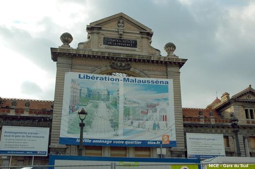 NICE – « Gare du Sud »