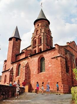 Kirche Saint-Pierre, Collonges-la-Rouge