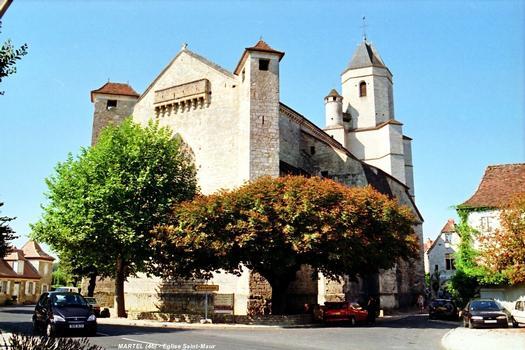 Kirche Saint-Maur, Martel