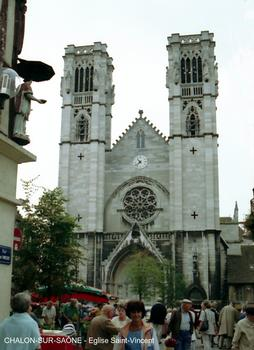 Kirche Saint-Vincent, Chalon-sur-Saône