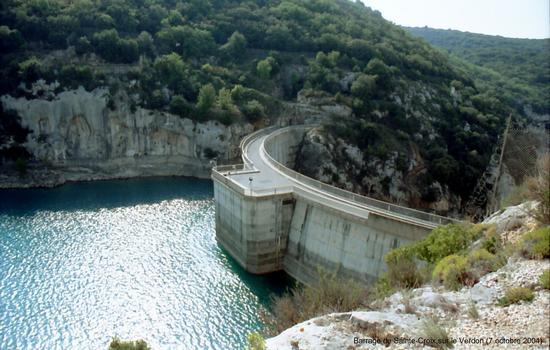Staudamm Sainte-Croix