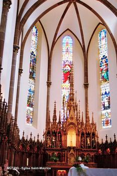 Kirche Saint-Maurice, Mutzig