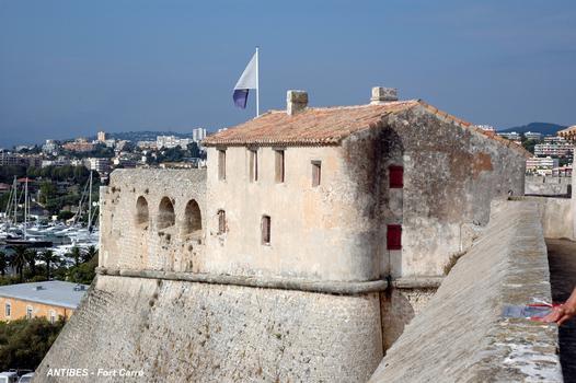 ANTIBES (06, Alpes-Maritimes) – FORT-CARRE, maison du Gouverneur