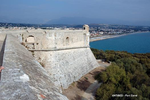 ANTIBES (06, Alpes-Maritimes) – FORT-CARRE, le bastion nord-est dit bastion de Nice
