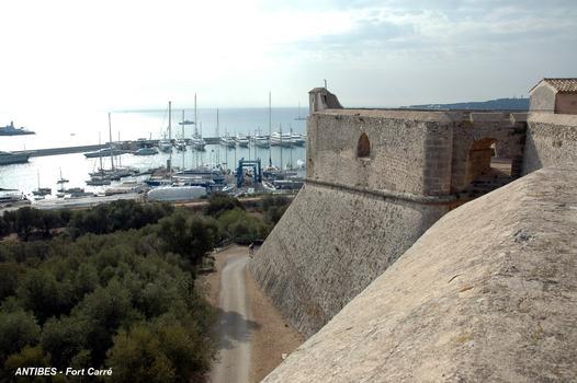 ANTIBES (06, Alpes-Maritimes) – FORT-CARRE, le bastion sud-est dit bastion de Corse