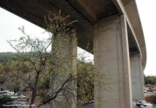 LE LUC (83340, Var) – Viaduc de l'autoroute A 8