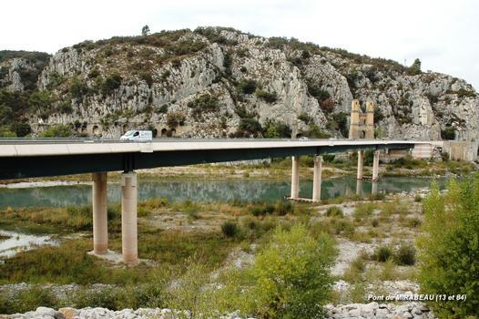 Hängebrücke Mirabeau