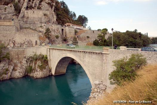 SISTERON (04200) – Le Pont de la Baume, sur la Durance