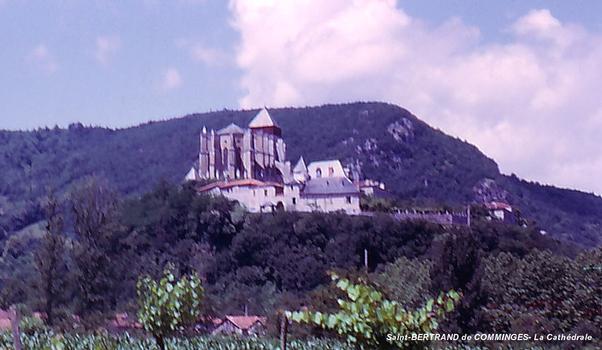 St-BERTRAND-de-COMMINGES (31, Haute-Garonne) -.La Cathédrale