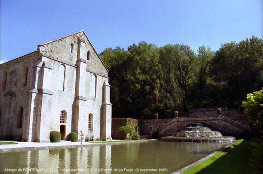 Abbaye de Fontenay (21) : Classée au Patrimoine Mondial de l'Unesco,en 1981