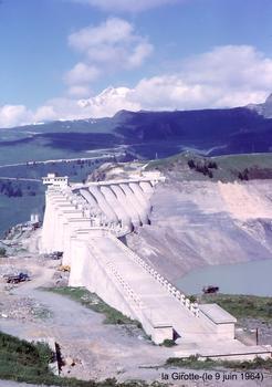 HAUTELUCE (73, Savoie) - Barrage de la GIROTTE