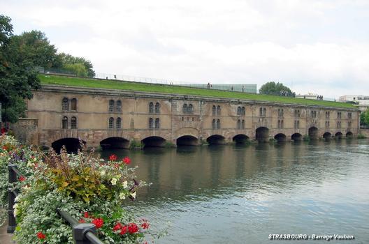 Vauban-Damm in Straßburg