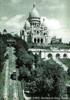 PARIS – Funiculaire de Montmartre, la première version à traction électrique
